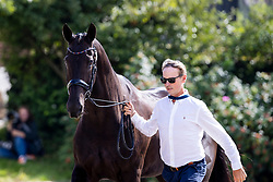 Hester Carl, GBR, En Vogue<br /> European Championship Dressage Hagen 2021<br /> © Hippo Foto - Dirk Caremans<br />  06/09/2021