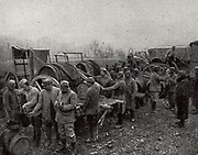Meuse in a camp wine distribution.