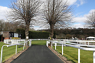A general view prior to racing at Nottingham Racecourse, Nottingham, United Kingdom on 7 April 2021.