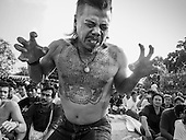 Wat Bang Phra Tattoo Ceremony in Black & White