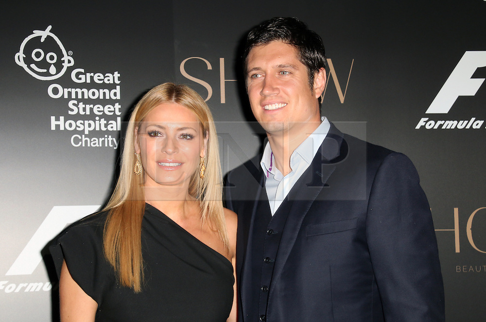 Tess Daly; Vernon Kay, F1 Party in aid of Great Ormond Street Hospital Children's Charity, Victoria and Albert Museum, London UK, 02 July 2014, Photo by Richard Goldschmidt © Licensed to London News Pictures. 03/07/2014