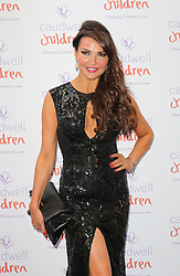 © Licensed to London News Pictures. 15/05/2014, UK. Lizzie Cundy, The Caudwell Children Butterfly Ball, Grosvenor House Hotel, London UK, 15 May 2014. Photo credit : Richard Goldschmidt/Piqtured/LNP