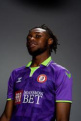 Antoine Semenyo of Bristol City during the 20/21 media day - Rogan/JMP - 31/08/2020 - Ashton Gate Stadium - Bristol, England.