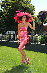 MELANIE MARCONI at the 3rd day - Ladies Day of Roayl Ascot 2006 on 22nd June 2006.<br />