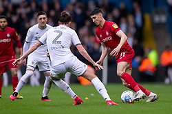 Callum O'Dowda of Bristol City takes on Luke Ayling of Leeds United - Mandatory by-line: Daniel Chesterton/JMP - 15/02/2020 - FOOTBALL - Elland Road - Leeds, England - Leeds United v Bristol City - Sky Bet Championship