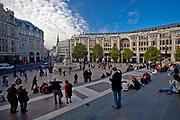 Londyn 2009-10-23. Plac przedd Katedrą św. Pawła