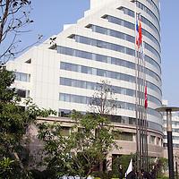 Asia, China, Shaanxi, Xian. The Sofitel Hotel