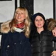 Sara Cox and Sadie Frost join Sleep Out fundraiser to help homeless young people at Greenwich Peninsula Quay on 15 November 2018, London, UK.