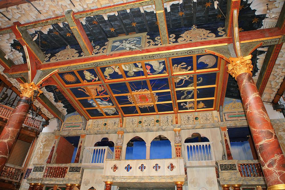 Globe Theatre Upper Stage - London