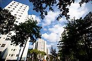 Belo Horizonte_MG, Brasil...Residencial Santa Helena no bairro Ipiranga em Belo Horizonte, Minas Gerais. Na foto area de lazer do condominio...Santa Helena condominium in the Ipiranga neighborhood in Belo Horizonte, Minas Gerais. In this photo recreation area in the condominium...Foto: NIDIN SANCHES / NITRO