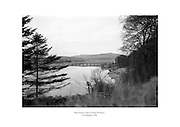 Blessington Lake, County Wicklow.<br /> <br /> 21st January 1964<br /> 21/01/1964