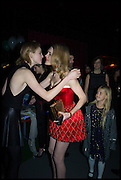 EDIE CAMPBELL; NATALIA VODIANOVA, The World's First Fund Fair  in aid of Natalia Vodianova's charity the Naked Heart Foundation. The Roundhouse. London. 24 February 2015.