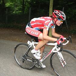 Sportfoto archief 2006-2010<br /> 2009<br /> Nederlands kampioenschap weg in Landgraaf-Heerlen Marianne Vos onderweg naar de titel bij de vrouwen