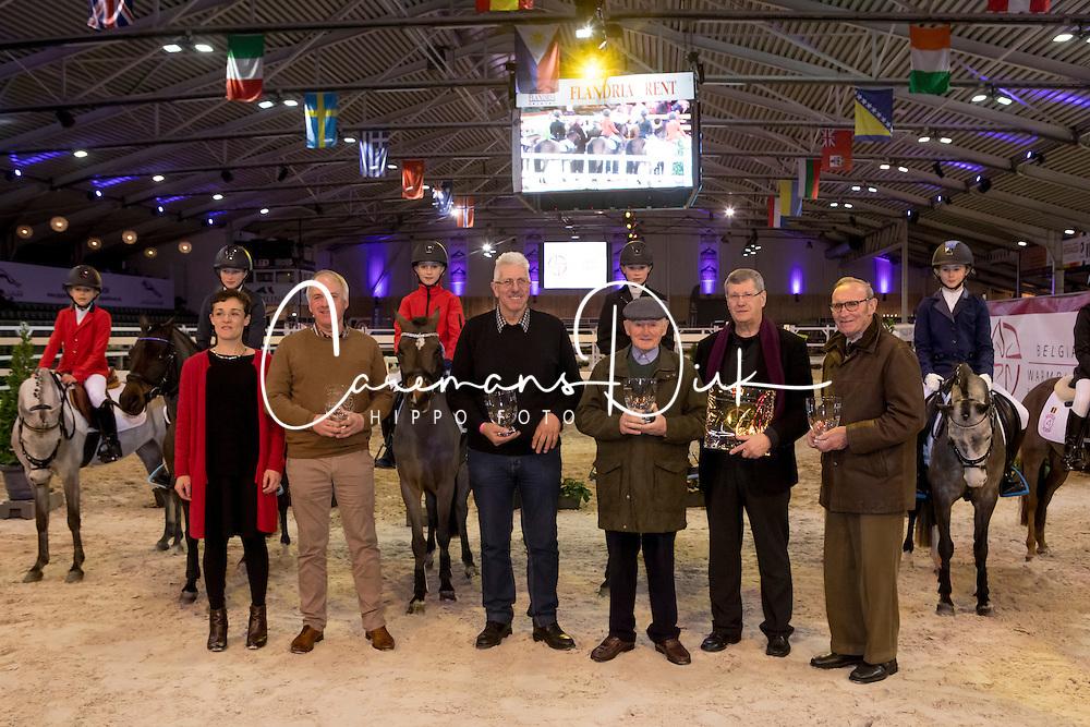 Huldiging Brp<br /> Hengsten keuring BWP - Koningshooikt 2017<br /> © Dirk Caremans<br /> 27/12/2016