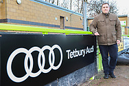 Audi ad board during the EFL Sky Bet League 2 match between Forest Green Rovers and Crewe Alexandra at the New Lawn, Forest Green, United Kingdom on 22 December 2018.
