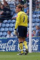 Owain Fon-Williams. Stockport County FC 2-2 Manchester City FC. Pre-Season Friendly. 2.8.08