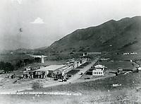 1915 Universal Studio's movie sets