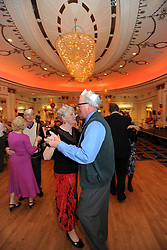 Over 50's Council Christmas dance, Bradford, West Yorkshire UK
