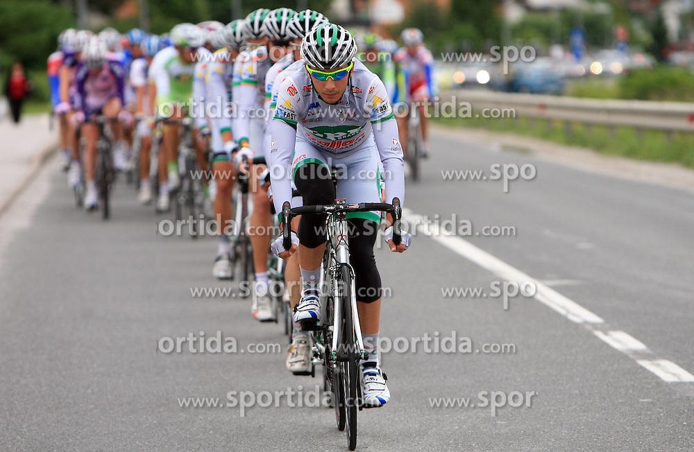 LPR leading the peloton in last 4th stage of the 15th Tour de Slovenie from Celje to Novo mesto (157 km), on June 14,2008, Slovenia. (Photo by Vid Ponikvar / Sportal Images)/ Sportida)