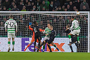 Nir Bitton of Celtic FC comes close on the stroke of half time  during the Europa League match between Celtic and FC Copenhagen at Celtic Park, Glasgow, Scotland on 27 February 2020.