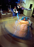 An artificial gravity sleeper at MIT test how astronauts can ward off the effects of lack of sleep and weightlessness in space.