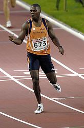 11-08-2006 ATLETIEK: EUROPEES KAMPIOENSSCHAP: GOTHENBURG <br /> Eugene Martineau loopt een fantastische 1500 meter en wordt derde<br /> ©2006-WWW.FOTOHOOGENDOORN.NL