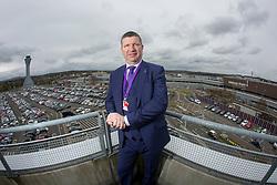 Matt shadowing Edinburgh Airport's chief exec Gordon Dewar as he runs Scotland's busiest airport.