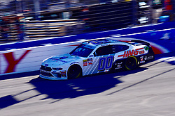 March 16, 2019 - Fontana, California, U.S. - FONTANA, CA - MARCH 16:  Winner of the race Cole Custer (00) Thompson Pipe/Haas Automation Ford on the final lap of  the NASCAR Xfinity Series  race on March 16, 2019 at Auto Club Speedway in Fontana, CA.  (Photo by Lyle Setter/Icon Sportswire) (Credit Image: © Lyle Setter/Icon SMI via ZUMA Press)