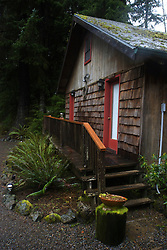 Guest Cottage at Manitou Lodge, Quillayute Valley, Olympic Peninsula, Washington, US