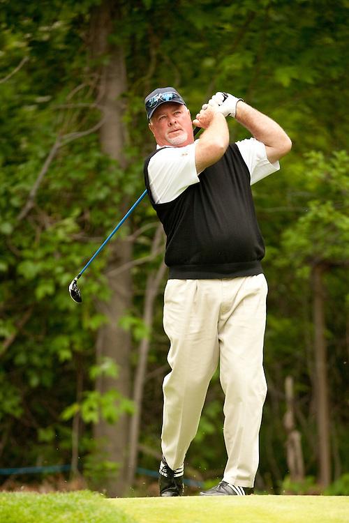 Tim Simpson. 2009 Senior PGA Championship, Round 4. Photographed at Canterbury Golf Club in Beachwood, Ohio on Sunday, May 24 2009. Photograph © 2009 Darren Carroll