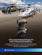 Aircraft Break Set photographed for United Technologies Print Ad.