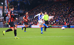 Brighton & Hove Albion's Beram Kayal shoots towards goal during the Emirates FA Cup, third round match at the Vitality Stadium, Bournemouth.