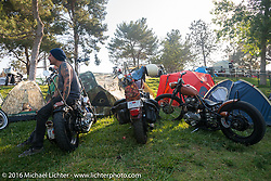 Born Free Campground before the Motorcycle Show-8 at Oak Canyon Ranch. Silverado, CA, USA. Saturday June 25, 2016.  Photography ©2016 Michael Lichter.