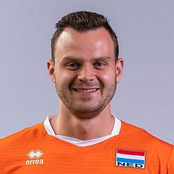 Freek de Weijer of Netherlands, Photoshoot selection of Orange men's volleybal team season 2021on may 11, 2021 in Arnhem, Netherlands (Photo by RHF Agency/Ronald Hoogendoorn)