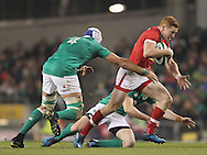 Ultan Dillane of Ireland and Connor Braid of Canada (r)  during the 2016 Guinness Series  autumn international rugby match, Ireland v Canada at the Aviva Stadium in Dublin, Ireland on Saturday 12th November 2016.<br /> pic by  John Halas, Andrew Orchard sports photography.