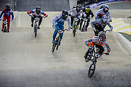 #4 (HARMSEN Joris) NED at Round 2 of the 2019 UCI BMX Supercross World Cup in Manchester, Great Britain