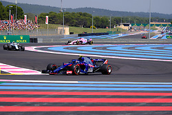 June 22, 2018 - Le Castellet, Var, France - Toro Rosso Driver PIERRE GASLY (FRA) in action during the Formula one French Grand Prix at the Paul Ricard circuit at Le Castellet - France (Credit Image: © Pierre Stevenin via ZUMA Wire)