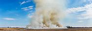 63863-03102 Prescribed Burn by IDNR Prairie Ridge State Natural Area Marion Co. IL