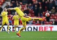 Middlesbrough v Burnley 090116