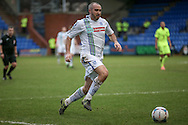 Gary Taylor-Fletcher (Tranmere Rovers) during the Vanarama National League match between Tranmere Rovers and Southport at Prenton Park, Birkenhead, England on 6 February 2016. Photo by Mark P Doherty.