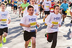 Boston Marathon: BAA 5K road race, young runner for Team Martin Richard