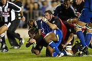 24 May, 2003. Eden Park, Auckland, New Zealand. Rugby Union Super 12 Final. Blues v Crusaders.<br />Mark Hammett.<br />The Blues won the match, 21 - 17.<br />Pic: Geoff Dale/Photosport