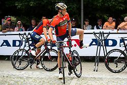 Borut Bozic of Bahrain Merida prior to 3rd Stage of 25th Tour de Slovenie 2018 cycling race between Slovenske Konjice and Celje (175,7 km), on June 15, 2018 in  Slovenia. Photo by Matic Klansek Velej / Sportida