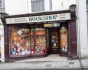 Walter Henry's independent bookshop in Bideford, Devon, England