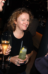 Artist RACHEL WHITEREAD at a dinner hosted by Arnaud Bamber MD of Cartier, Amanda Sharp and Matthew Slotover Directors of the Frieze Art Fair to celebrate artists featured in the 2005 Frieze Art Fair Curatorial Programme at Nobu-Berkeley, 15th Berkeley Street, London on 21st October 2005.<br /><br />NON EXCLUSIVE - WORLD RIGHTS