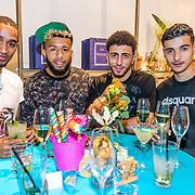 NLD/Rotterdam/20170517 - Lancering Limited Christian Louboutin tas Maxicaba, Jerson Cabral, Tonny Vilhena, Bilal Basacikoglu, .......