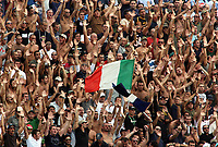 "Empoli (Florence, Italy) Stadium ""Carlo Castellani"" Match day 4 Serie A Campionship Empoli F.C.-S.S.C.Napoli September 23:<br /> Fan's of Napoli on the stands during the match on September 23, 2007 in Empoli, Italy. Empoli and Napoli 0-0<br /> Photo by Gianni Nucci/Insidefoto"