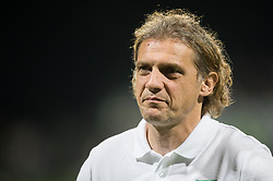 Safet Hadzic, head coach of NK Olimpija Ljubljana during football match between NK Domzale and NK Olimpija Ljubljana in Final of Slovenian Cup 2017, on May 31, 2017 in Stadium Bonifika, Koper / Capodistria, Slovenia. Photo by Vid Ponikvar / Sportida