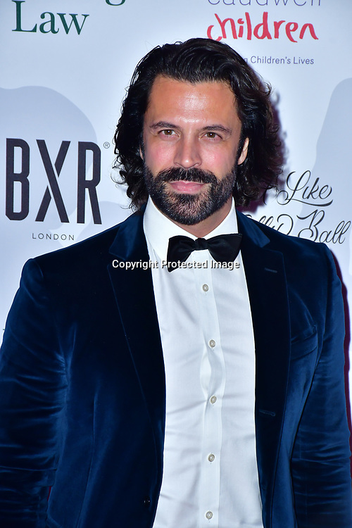 Christian Vit arrive at Float Like A Butterfly Ball for Caudwell Children Charity at Grosvenor House Hotel on 16 November 2019, London, UK.