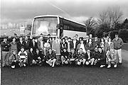Castle Heights Hotel Golf Society off on a trip in Killarney in 1994.<br /> Now & Then - MacMONAGLE photo archives.<br /> Picture by Don MacMonagle -macmonagle.com<br /> Facebook - @killarneynowandthen